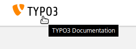 Go to documentation start page https://docs.typo3.org