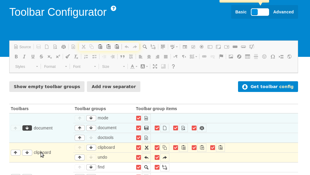 Configuration Examples — rte_ckeditor latest (10-dev