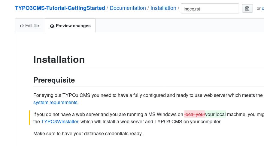 "Workflow #1: ""Edit me on Github"" — Writing Documentation 2 0"