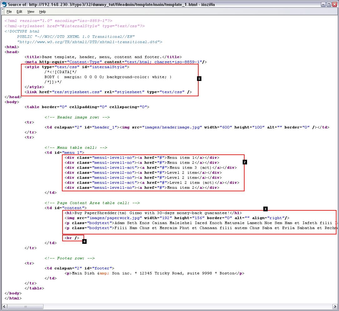 Moderne Templateerstellung, Teil 1 (MTB_de/1) — doc_tut_templsel_de ...