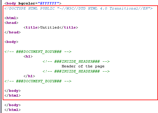 Modern template building part 1 mtb1 doctuttemplselect 010 now comes the point of the template cobject it not only reads in a html file it also allows us to extract subparts inside of it and replace them with maxwellsz