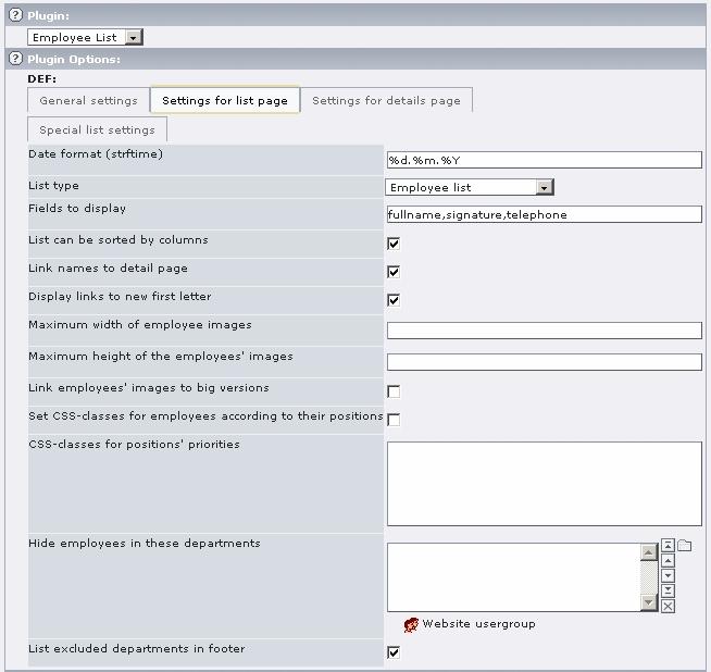 EXT: sm_employeelist — sm_employeelist 1 1 0 documentation