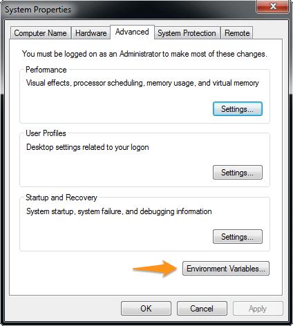 MS Windows environment setup — sphinx 2 5 1 documentation