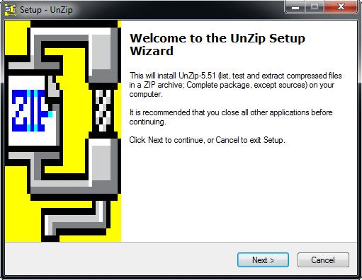Unzip Utility
