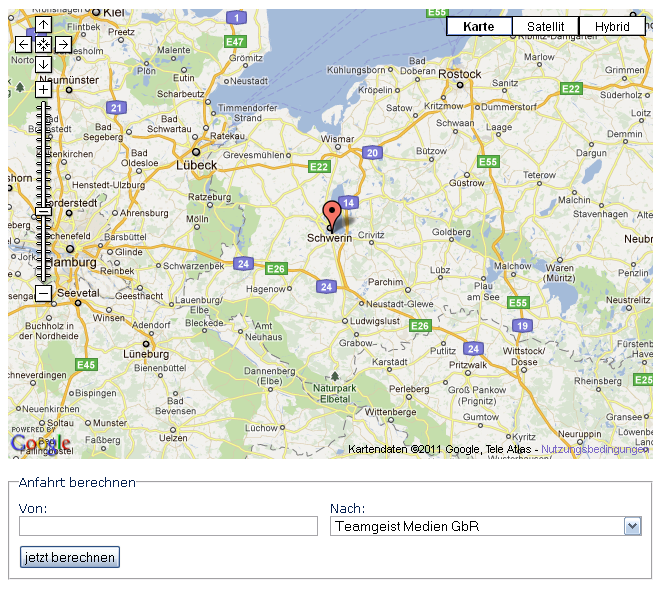 EXT: TGM Simple Google Map — tgm_simplegooglemap 0 3 1